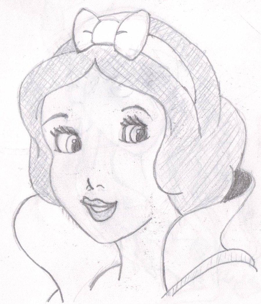 900x1046 Drawing Practice Snow White By Josephnorris