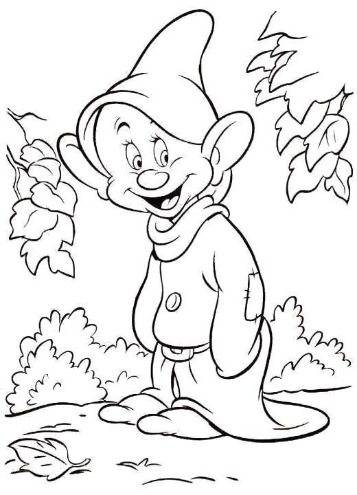 520x720 Princess Snow White Coloring Pages New Disney Drawing Pages