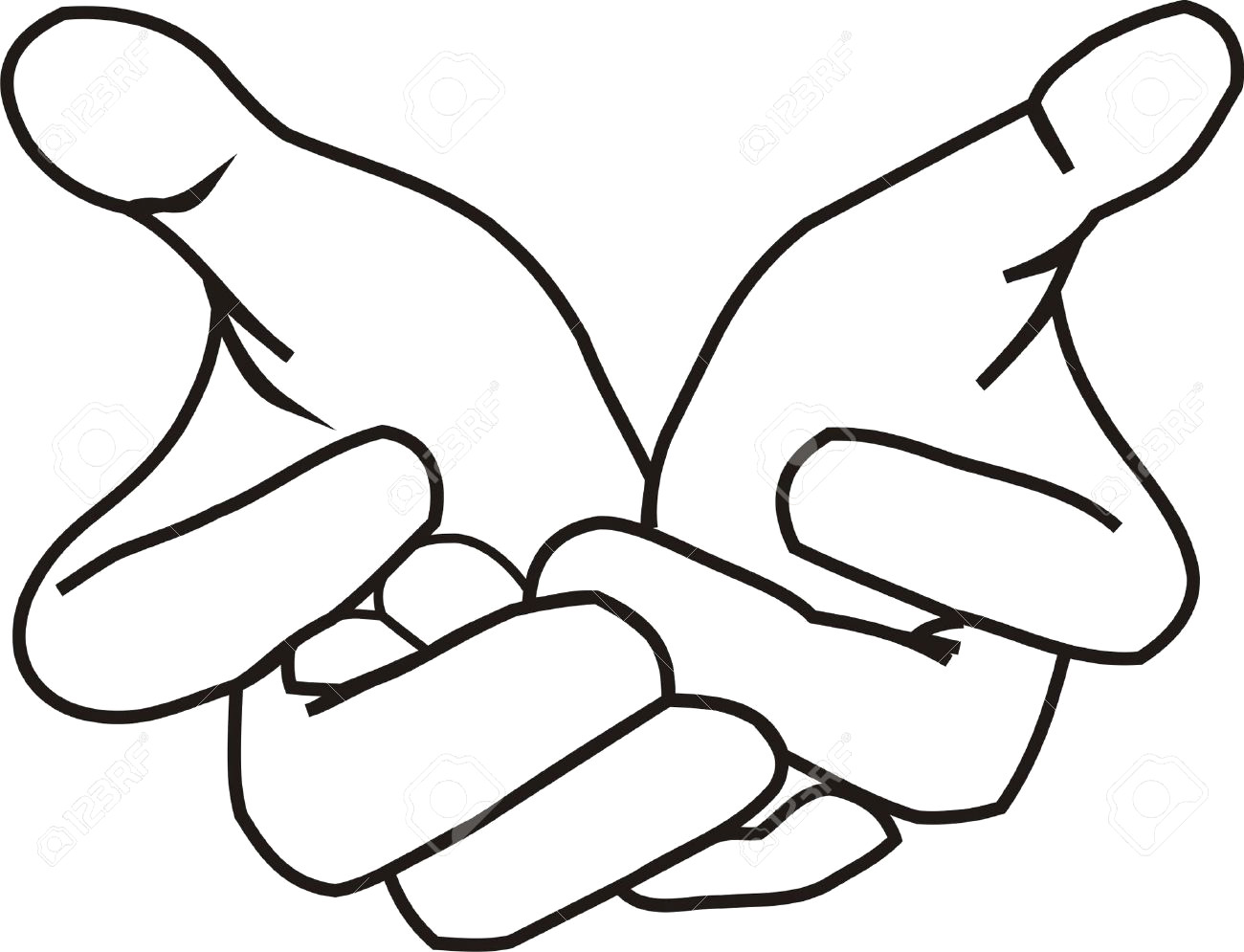1300x995 Hand Shaking Drawing 34 Hands Clipart Black And White
