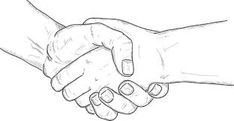 234x121 How To Draw Shaking Hands Step 4 Tryyy Sketches