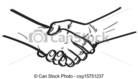 450x259 Collection Of Two Hands Shaking Drawing High Quality, Free