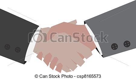 450x263 Handshake. Two Businessmen Shaking Hands Vectors