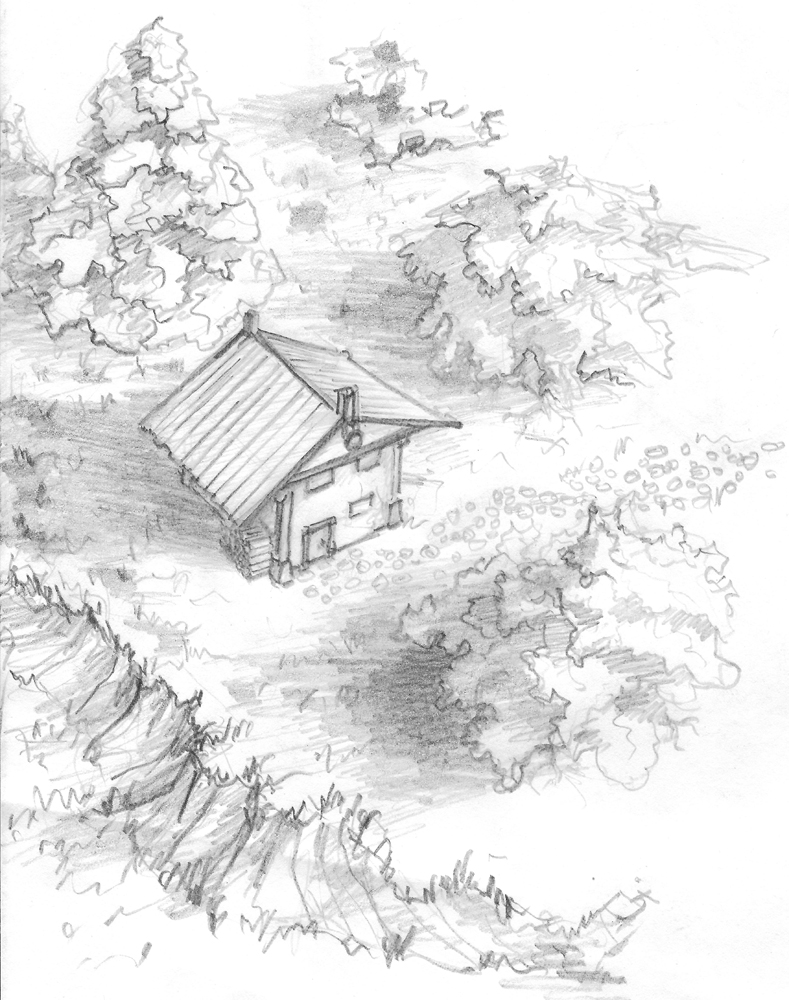 789x1000 A Forest Hut By Headconc