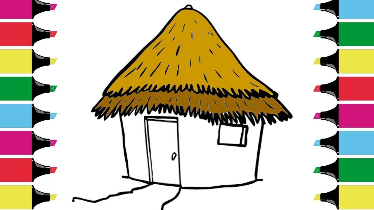 1280x720 Teach Drawing For Kids Coloring Hut With Color Markers