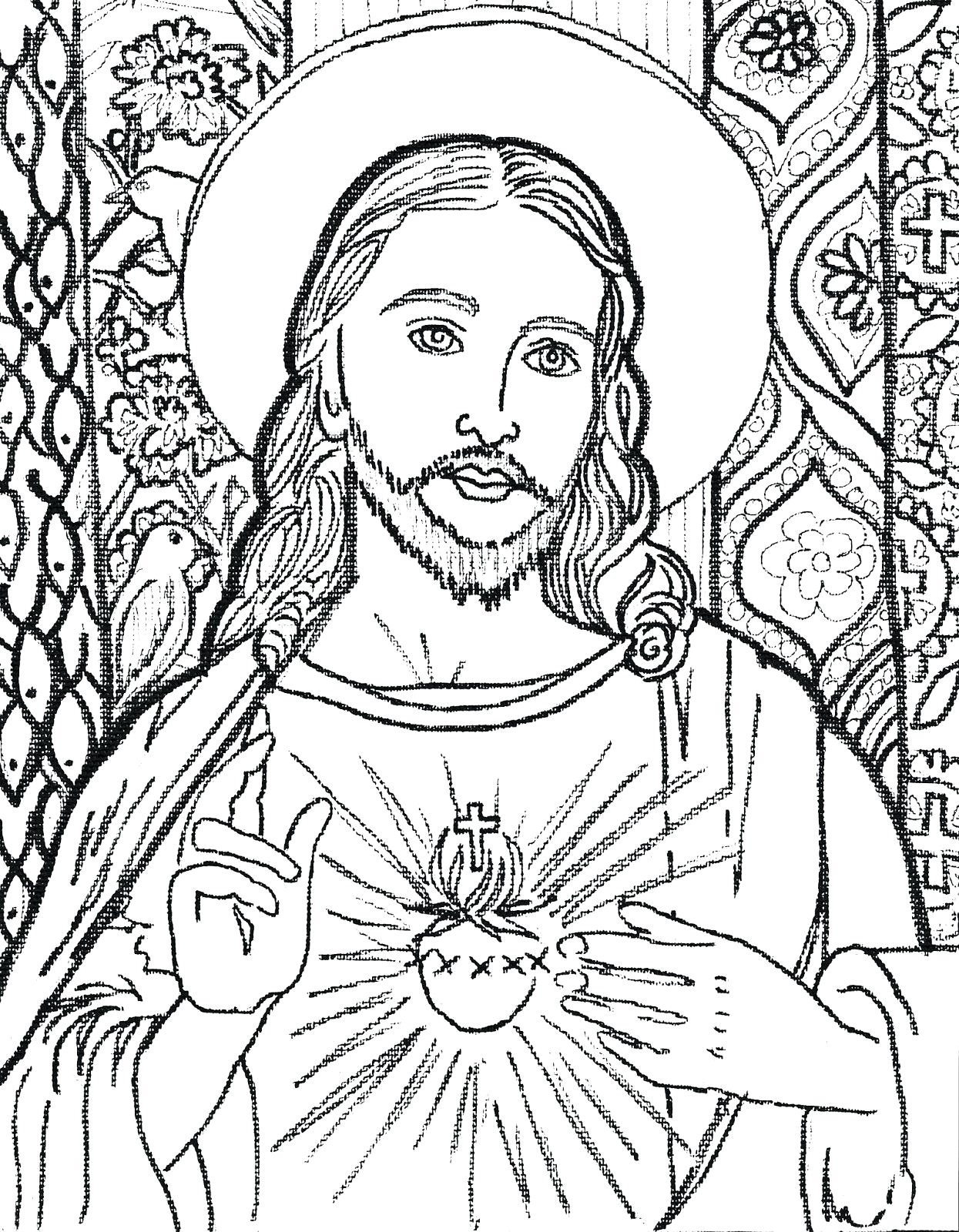 1245x1600 Easy Sketches Of Jesus Christ Fresh Jesus Christ Face Drawing