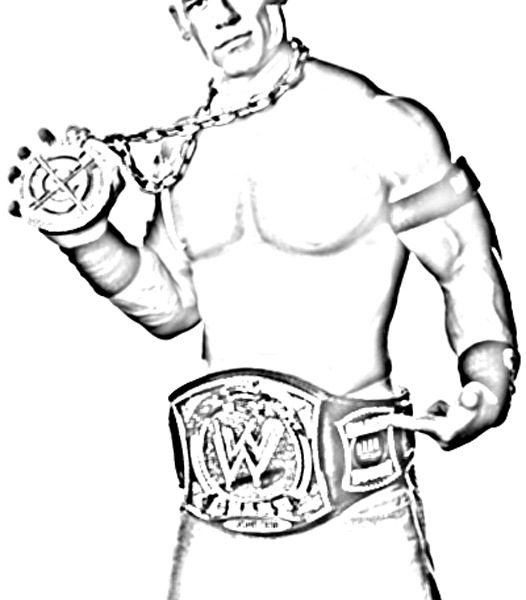 526x600 John Cena Coloring Pages New Coloring Pages Coloring Pages