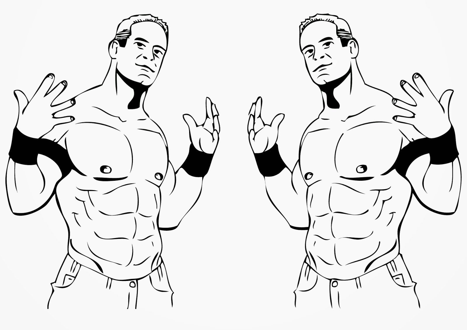 1600x1130 Magic John Cena Coloring Pages Wwe Brock Lesna