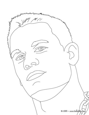 364x470 Champion John Cena Coloring Pages