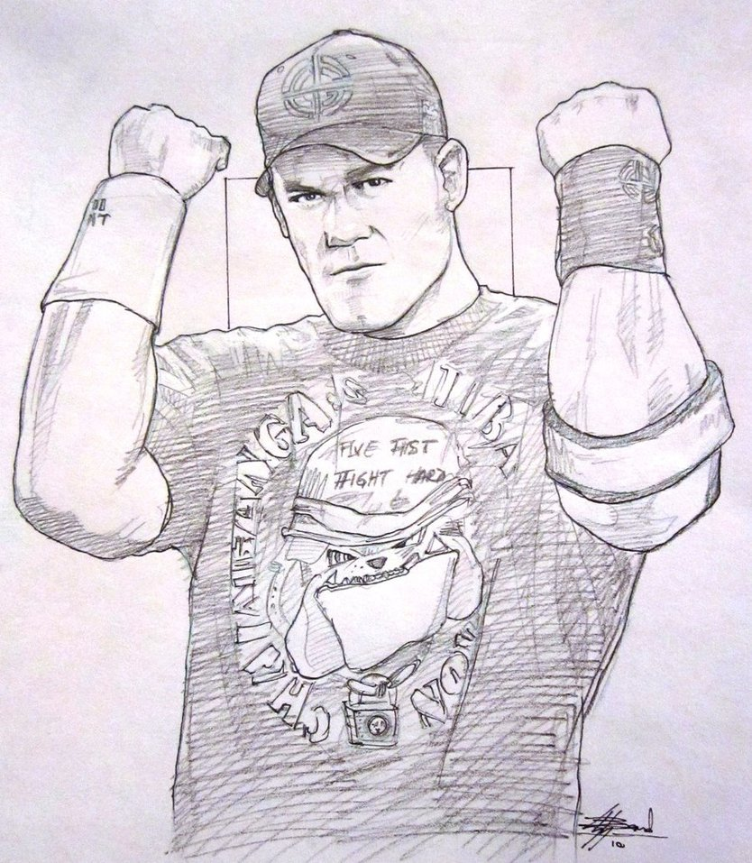 834x957 John Cena Unleashed By Bardsville