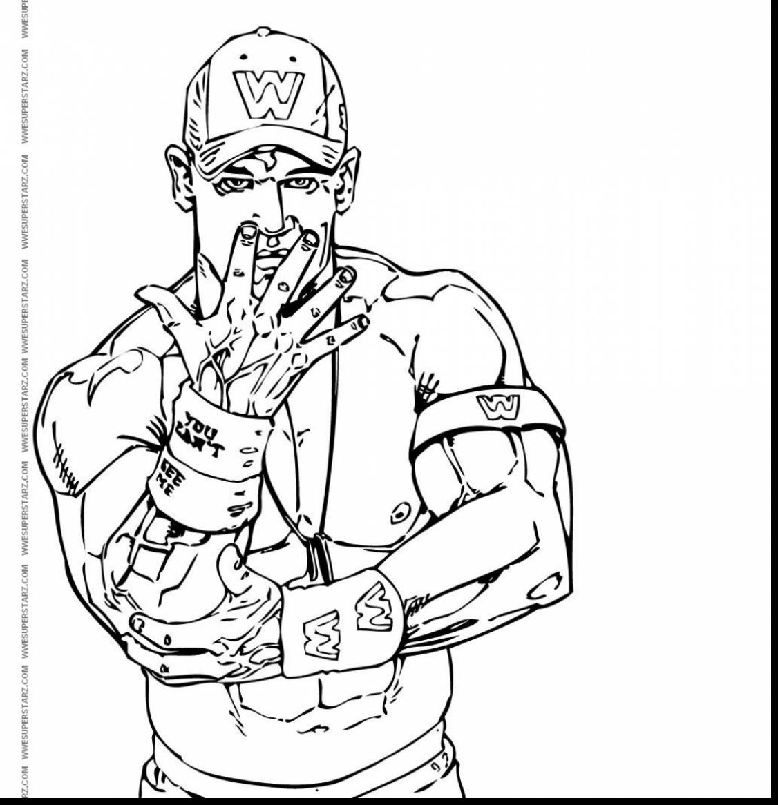 1126x1166 Good John Cena Coloring Pages 79 On Coloring Pages For Kids Online