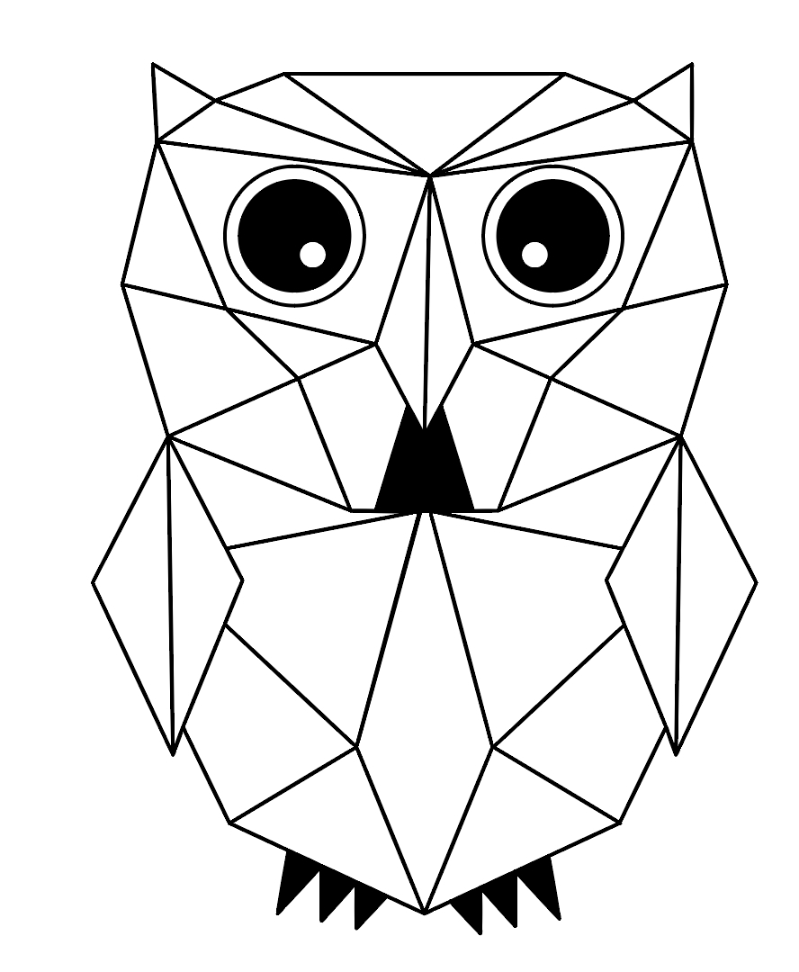 888x1080 Drawing Animals Using Geometric Shapes How To Draw Animals Using