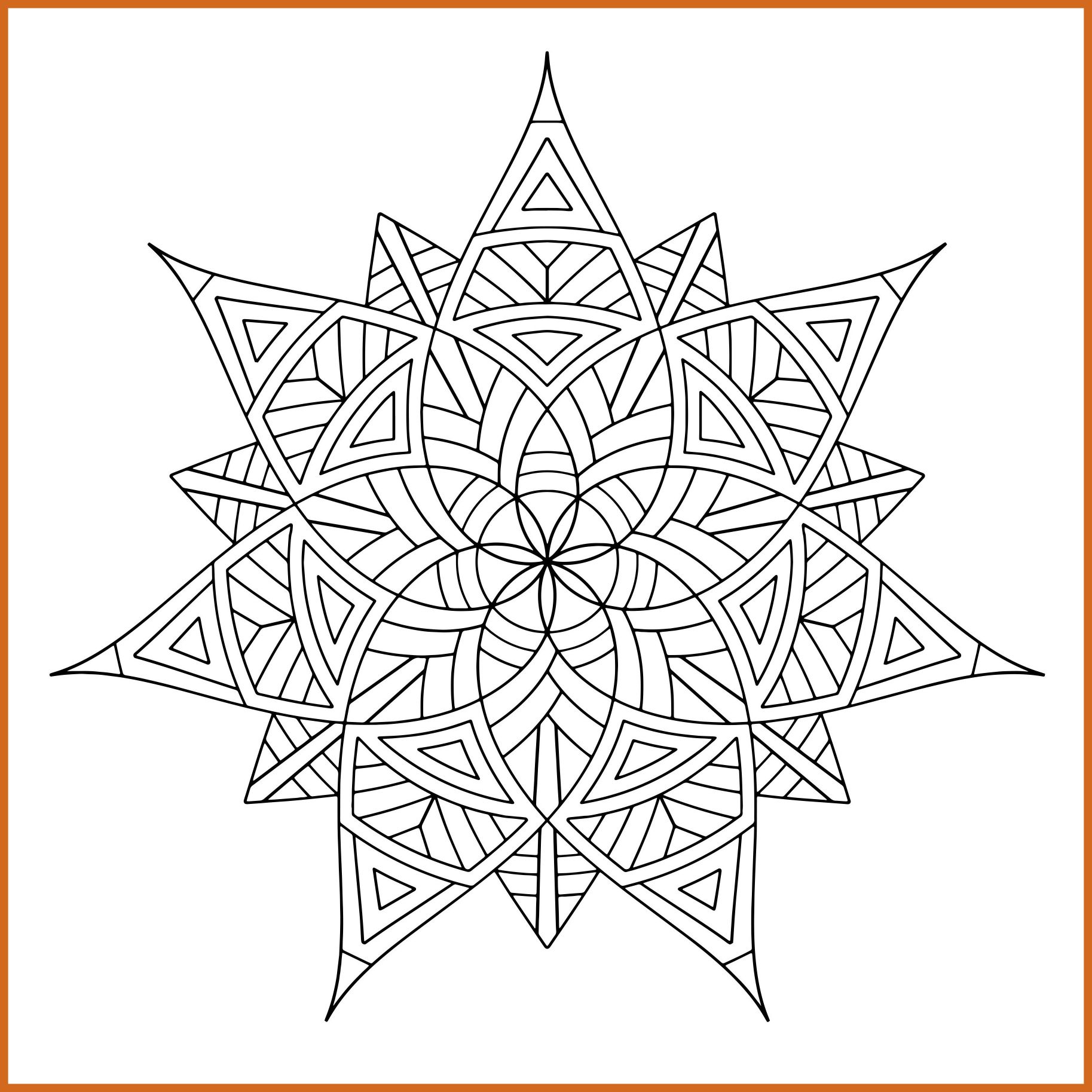 1827x1827 Fascinating Geometric Shapes Coloring Pages Draw To Color Image