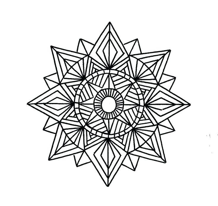 736x696 Geometric Shape Designs The Geometric Shapes Challenge Winner Is