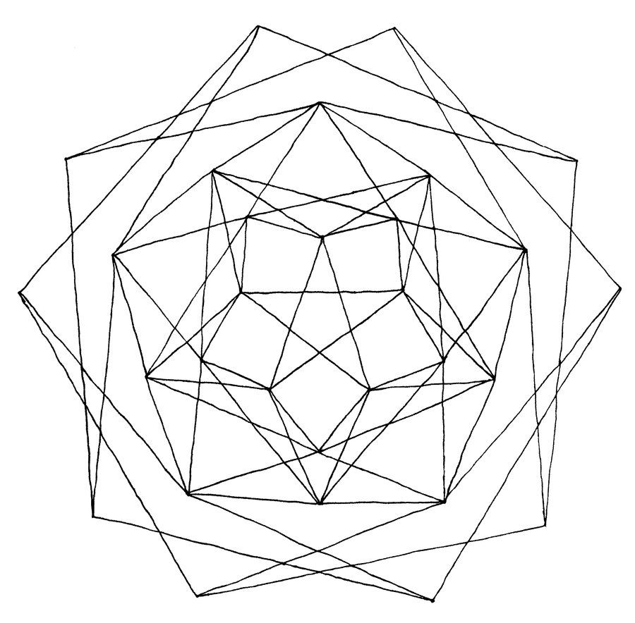 900x884 Geometric Shapes Coloring Pages Printable,shapes.free Download