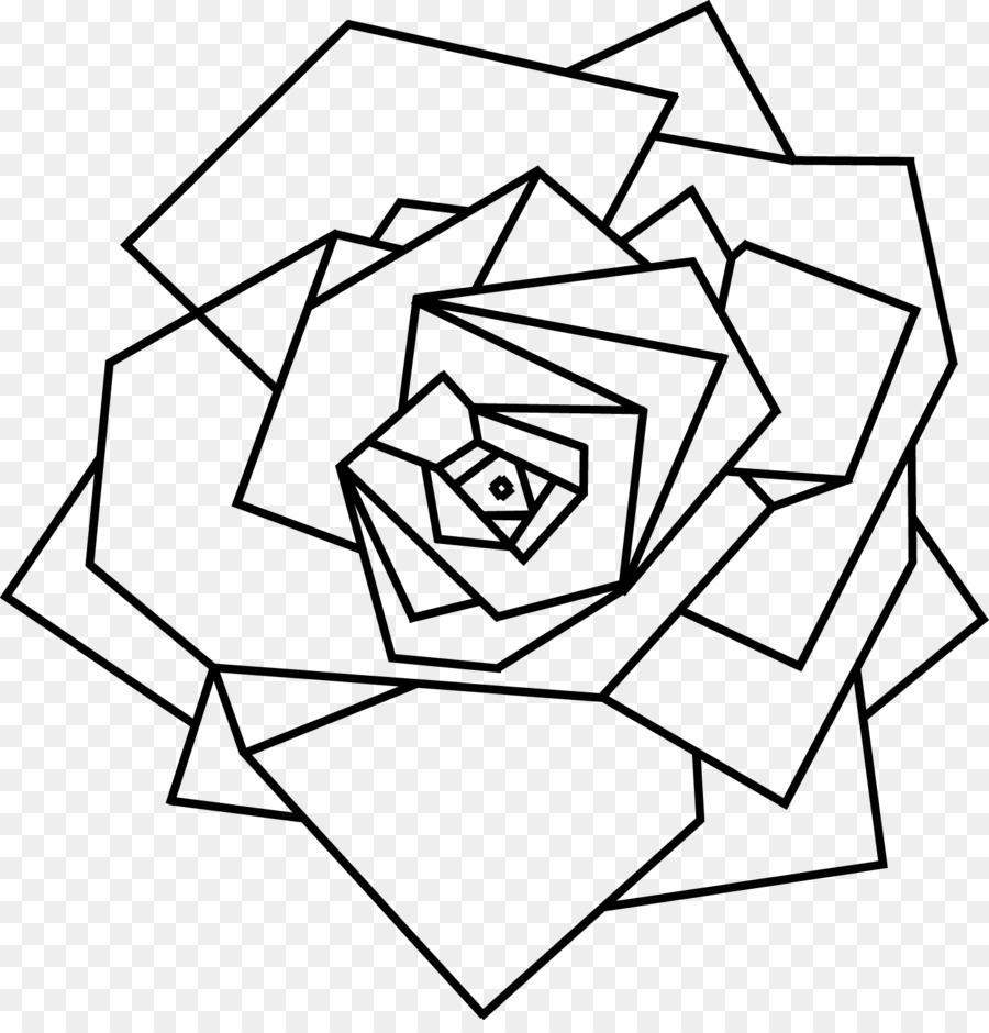 900x940 Geometry Flower Floral Design Drawing Geometric Shape