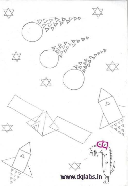 497x720 Graphic Basic Geometric Shapes 2d Composition Pune