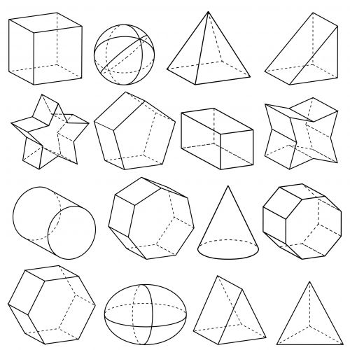500x500 Pictures How To Draw Geometric Shapes,