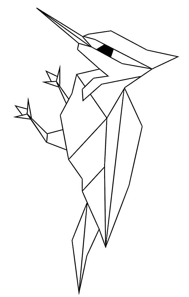 646x1014 Collection Of Drawing Pictures Using Geometric Shapes High