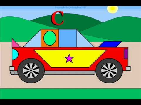 480x360 Build A Nascar For Children With Geometric Shapes Automobile Race