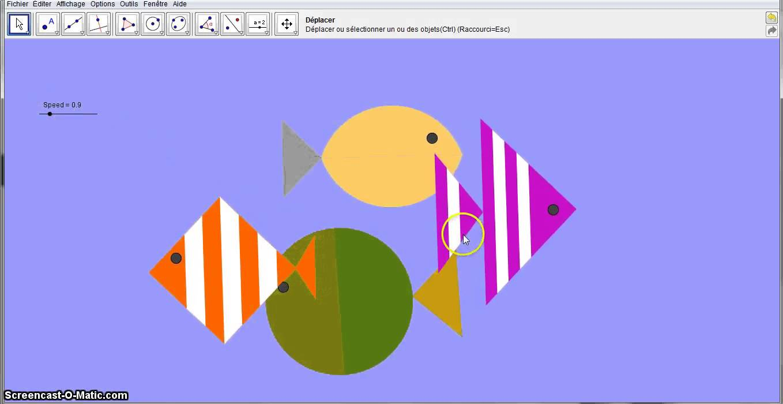 1358x700 Drawing Geometric Fish With Geogebra