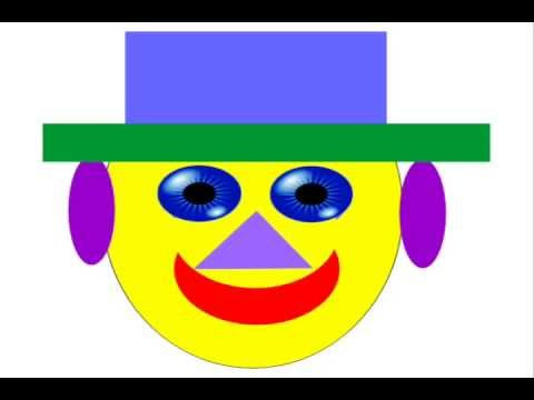 480x360 Learn, How To Make A Clown Face By M.saquib ( Illustrator