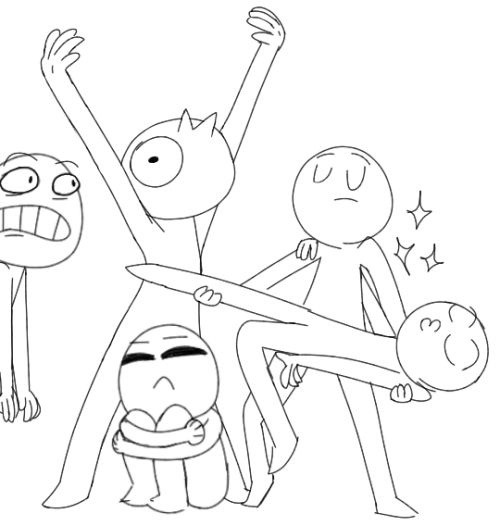 500x526 The 209 Best Draw The Squad Images On Drawing Ideas
