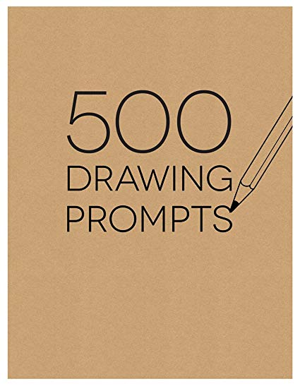 425x547 Piccadilly Sketchbook, 500 Drawing Prompts Notebook