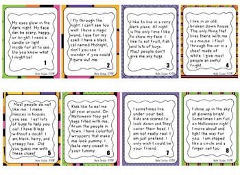 350x256 Inferring And Drawing Conclusions Halloween Riddles By Anita Goodwin