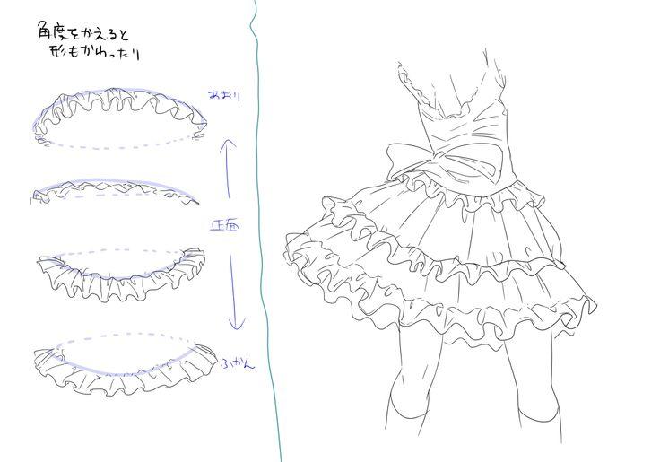 Drawing Ruffles