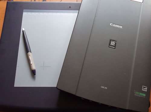 500x370 The Cartooning Process} 4. Digitising The Hand Drawn Cartoons