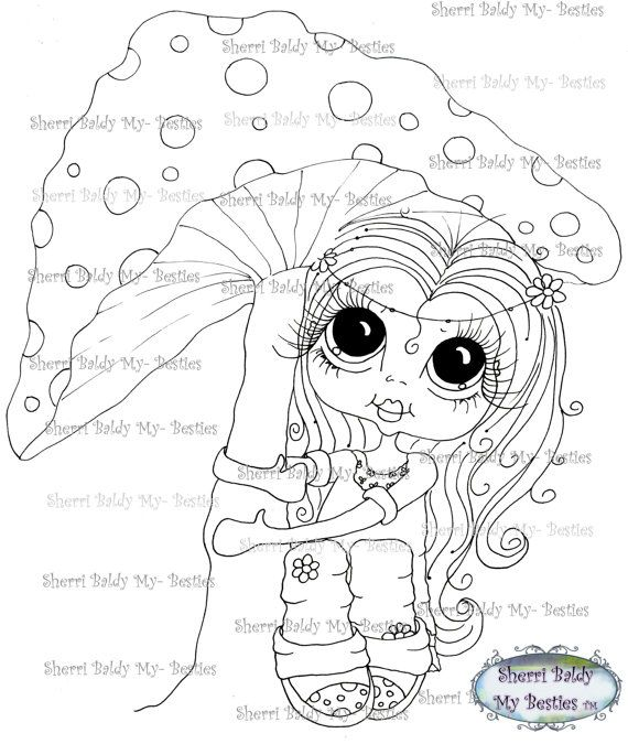 Drawing Snowman Eyes