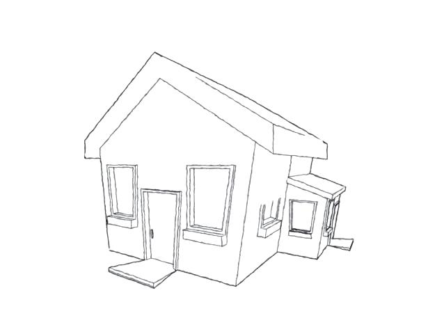 638x480 3d House Drawing New House Drawing Gallery Drawings Art 3d House