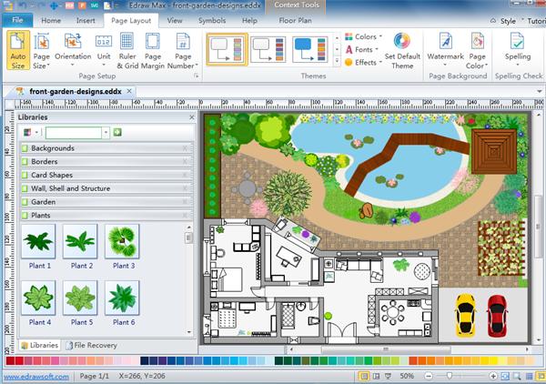 600x422 2d Floor Plan Drawing Software