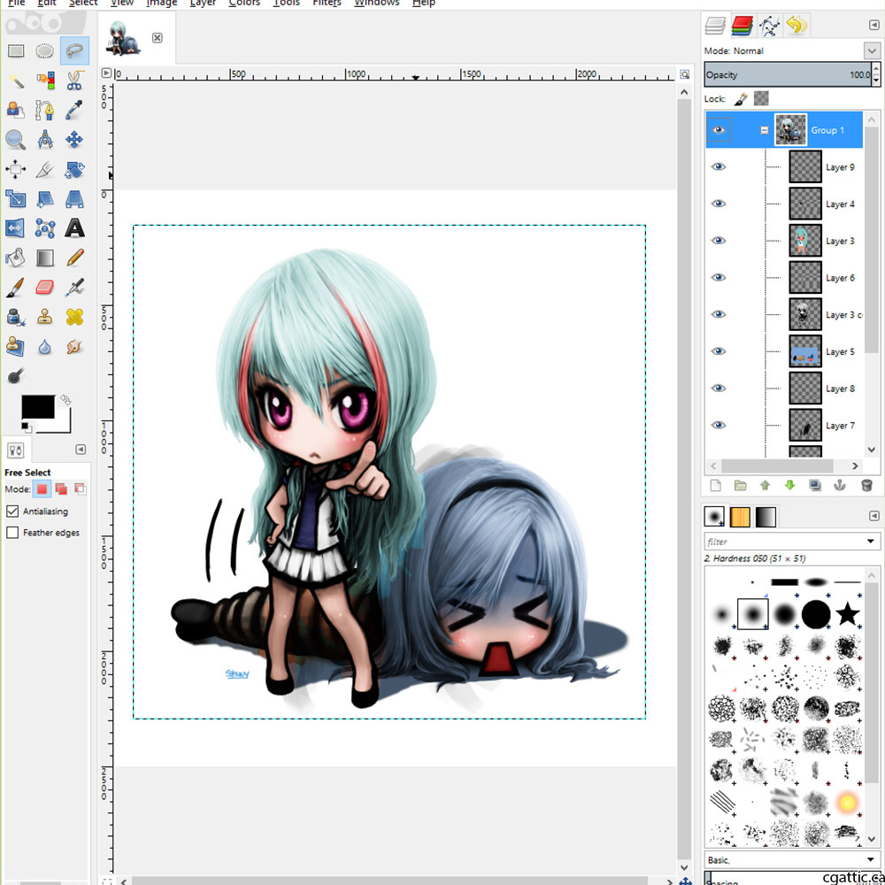 1000x1000 Programs For Drawing Manga Well Recommended Free Drawing Software