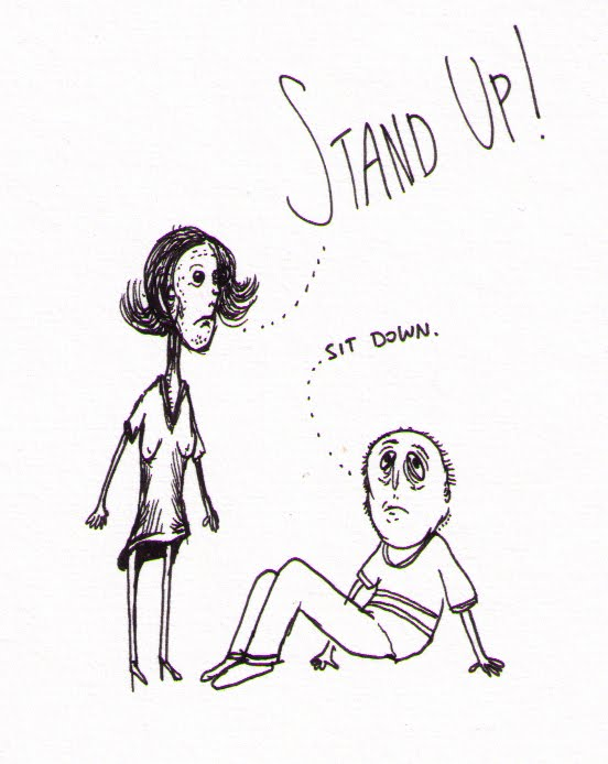552x694 Sean Drawings Sit Down Stand Up