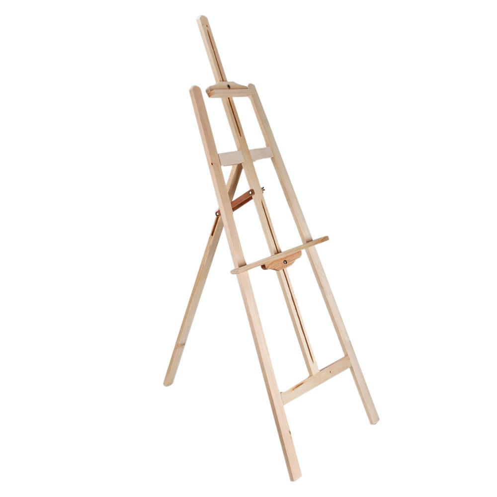 1000x1000 Durable Artist Wood Wooden Easel Display Stand Studio For Drawing