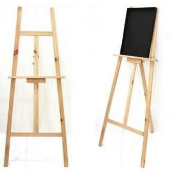 340x340 Natural Wood Drawing Easel Drawing Stand Lazada