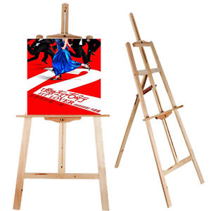 300x300 Portable Durable Artist Wood Easel Art Stand Drawing Woard Paint