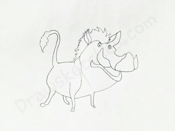 600x450 How To Draw A Boar In A Few Easy Steps With Pictures