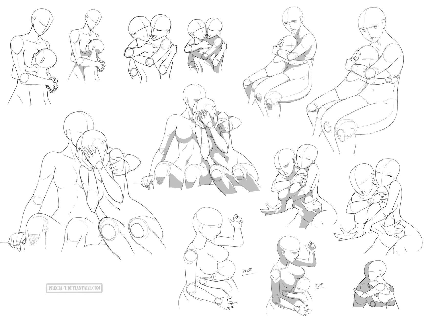 1757x1320 Hug References (Ff) By Precia On @