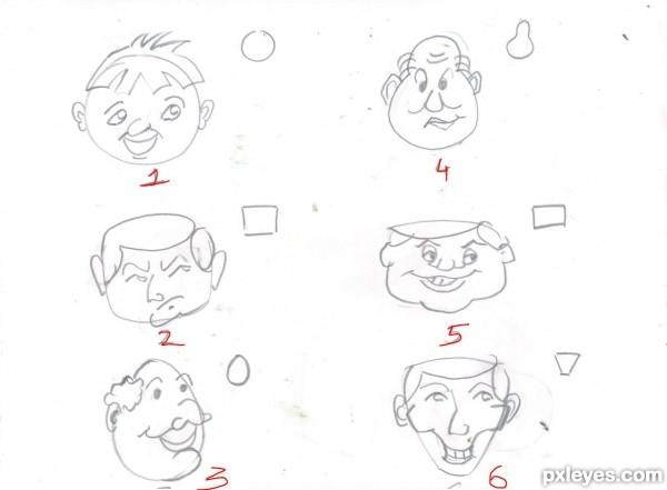 600x441 Cartooning Tutorials Simple Tricks To Draw Your Own Cartoons