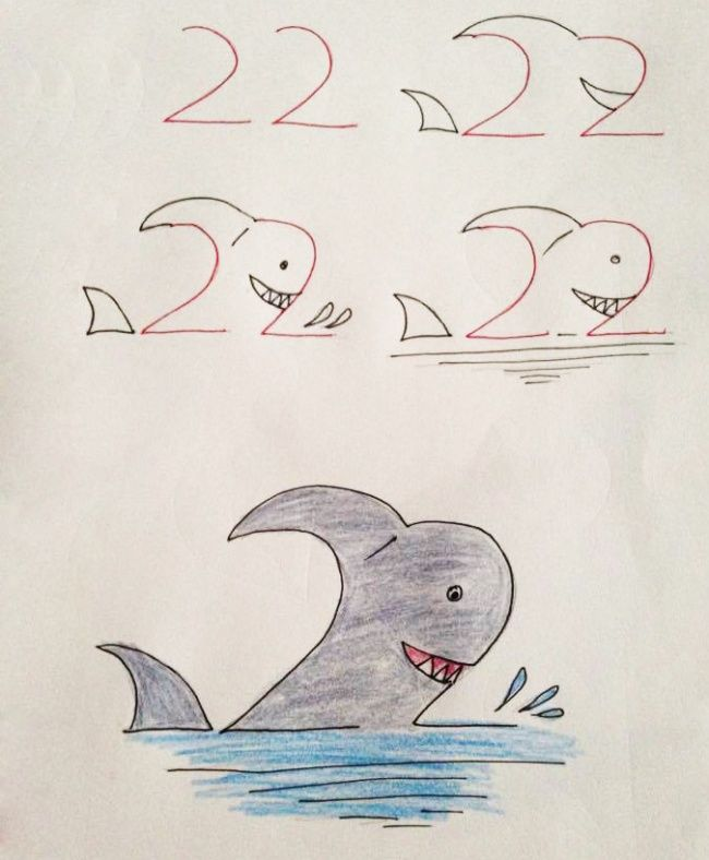 650x788 20 Creative And Easy Kid Friendly Drawings That Are Made
