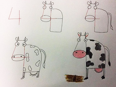 370x277 Teach Your Kids How To Draw Cute And Fun Animals Just By Using
