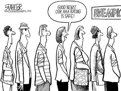 507x380 Cartoon Unemployment Line