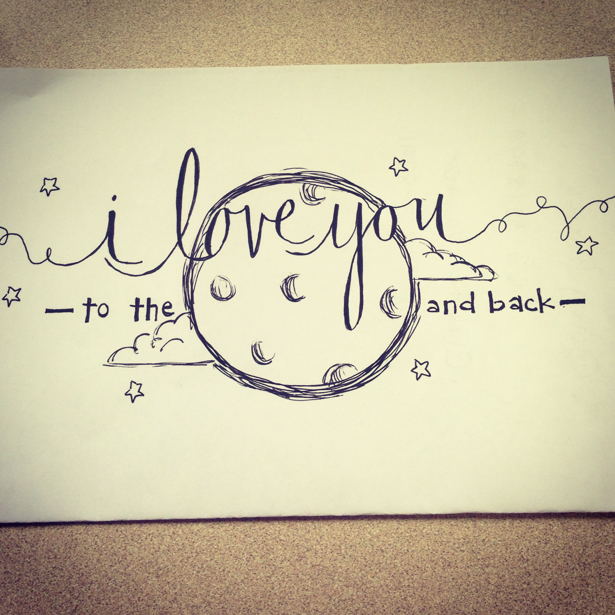 drawing love quotes at