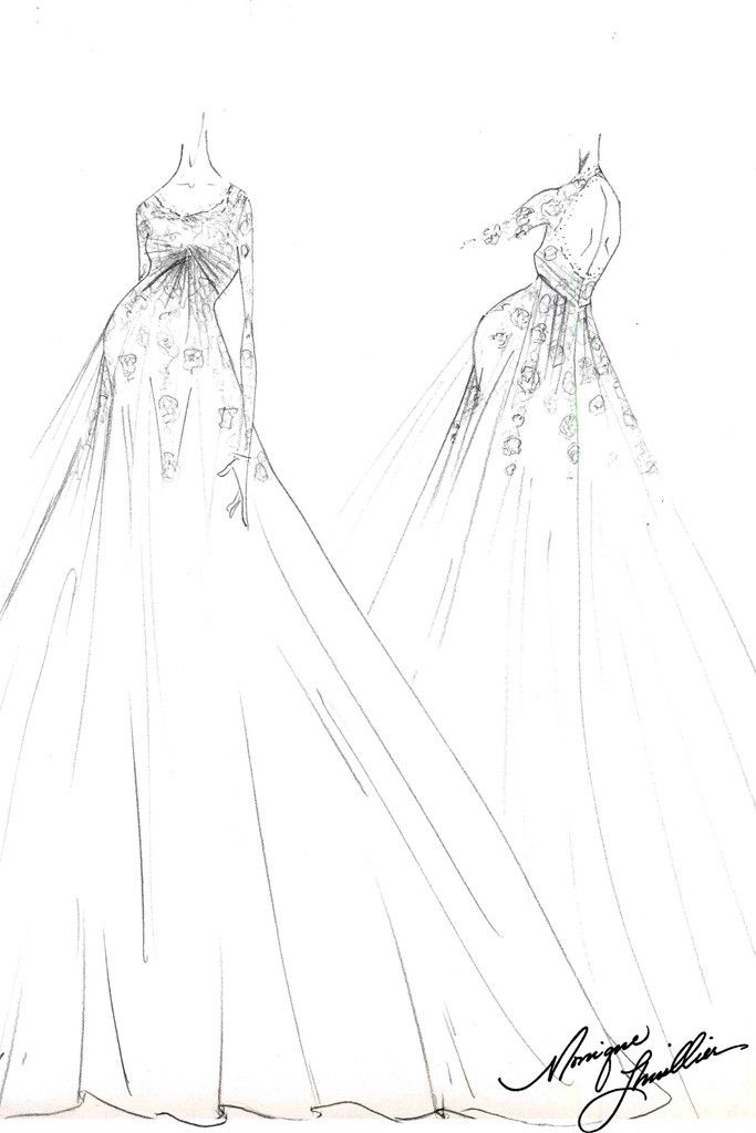 Drawing Ideas Dresses