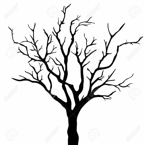 474x474 Leafless Tree Drawing Tree Silhouette Dry Tree Or Dead Tree