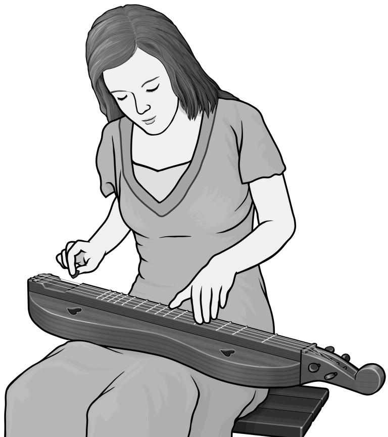 Dulcimer Drawing at GetDrawings   Free download