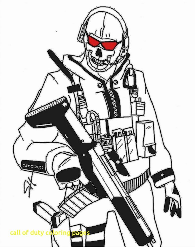 775x982 Call Of Duty Coloring Pages Inspirational Call Drawing
