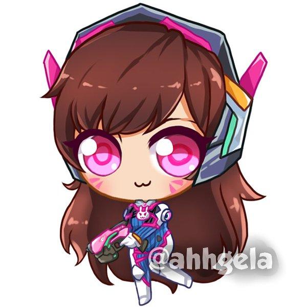 600x600 Angera@anime Revo Otakuthon On Twitter D.va Is So Cute U